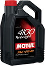 Фото Motul 4100 Turbolight 10W-40 4 л