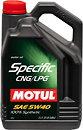 Фото Motul Specific CNG/LPG 5W-40 5 л (854051)