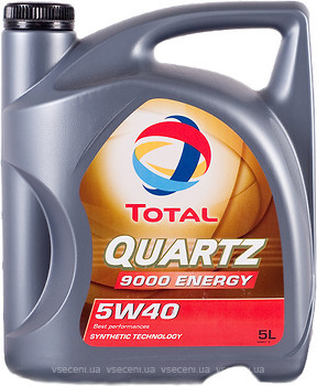 Фото Total Quartz 9000 Energy 5W-40 5 л