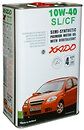 Фото Xado Atomic oil 10W-40 SL/CF 4 л