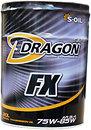 Фото S-Oil Dragon FX 75W-85 20 л