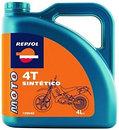 Фото Repsol Moto Sintetico 4T 10W-40 4 л