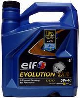 Elf Evolution 900 SXR 5W-40 5 л
