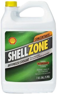 Фото Shell Zone Antifreeze Concentrate -80 3.785л
