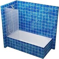 S-Mix перегородка на ванную 60x150 (PV-1-60)