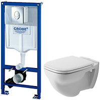 Duravit D-Code 453519 + Grohe Rapid SL 38721001