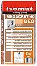Фото Isomat Megacret 40 Geo 25 кг