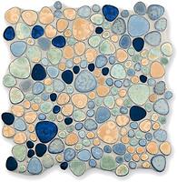 Baerwolf мозаика Ceramic Mosaic Kiesel-3780 30x30