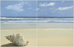Ceramika Paradyz декор-панно ACAPULCO PANEL PLAZA BLUE 50x80 (комплект 4 шт)