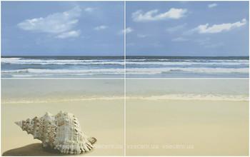 Фото Ceramika Paradyz декор-панно ACAPULCO PANEL PLAZA BLUE 50x80 (комплект 4 шт)