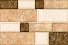 Inter Cerama плитка настенная GRANI светло-коричневая 23x35
