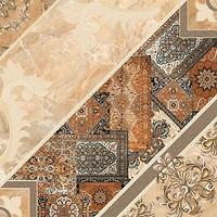 Inter Cerama плитка напольная CARPETS темно-коричневая 43x43