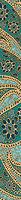 Kerama Marazzi бордюр Ранголи 7.2x60 (DT\D65\11000T)