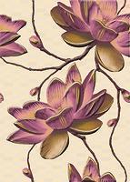 Cersanit декор ДИВА (DIVA) Цветок 25x35