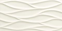 Tubadzin плитка настенная All in White 3 Struktura 29.8x59.8