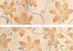 TAU Ceramica декор-панно Colonna Decor Flores Beige 40x60 (комплект 2 шт)