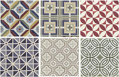 Equipe Ceramicas набор декоров Country Patchwork 13.2x13.2