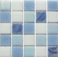 Colibri Mosaic мозаика стеклянная Artica Микс 38 32.7x32.7