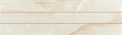 Ecoceramic плитка настенная Reale Precorte Crema 25x85