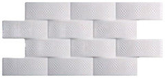 Codicer 95 плитка настенная Pagoda Blanco Luxor 24x49