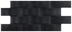 Codicer 95 плитка настенная Pagoda Negro 24x49