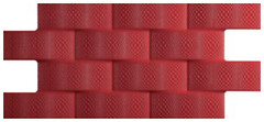 Codicer 95 плитка настенная Pagoda Rojo Luxor 24x49