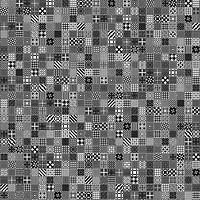 Golden Tile плитка напольная Maryland черная 40x40 (56С830)