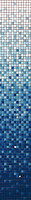 Stella De Mare мозаика стеклянная R-MOS MV512 BLUE 30.5x30.5 (комплект 7 шт)