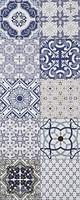Атем плитка настенная Izmir Sote BL 20x50 (16795)