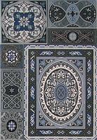Фото Атем плитка настенная Aladdin Pattern Mix BL 27.5x40 (16170)