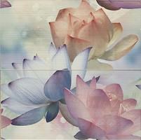 Latina Ceramica декор-панно Aris Decor Bloom Gris 50x50 (комплект 2 шт)