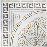Roca декор-панно CALACATTA KIT ROSETON LAPPATO 120x120 (комплект 4 шт)