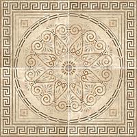 Roca декор-панно PADOVA KIT ROSETON LAPATO 120x120 (комплект 4 шт)