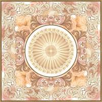 Halcon декор-панно Alabastro Roseton 113x113 (комплект 4 шт)