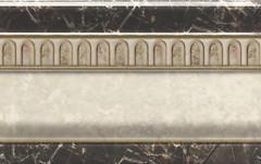 Cristal Ceramica цоколь Constanza Zocalo Relieve 20x31.6