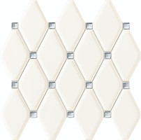 Tubadzin мозаика Abisso White 27x29.8