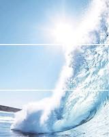 Фото Cerrol декор-панно Porto Komplet Wave A 60x75 (комплект 3 шт)