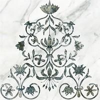 Керамин грес (керамогранит) декор Каррара 1 тип 2 50x50