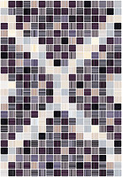 Керамин плитка мозаичная Гламур 4 тип 1 27.5x40