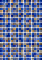 Керамин плитка мозаичная Гламур 2Т 27.5x40