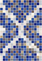 Керамин плитка мозаичная Гламур 2 тип 1 27.5x40
