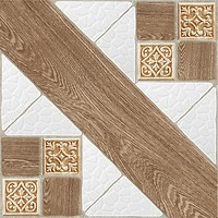 Фото Inter Cerama плитка напольная COUNTRY светло-коричневая 43x43