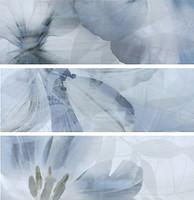 TAU Ceramica набор декоров Onice Decor Flor Perla 25x75