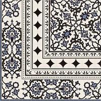 Realonda грес (керамогранит) декор Orly Esquina Deco 44x44