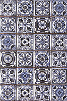Argenta плитка мозаичная Novum Blue 25x40