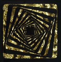 Grand Kerama вставка Tako Квадрат золото 6.6x6.6