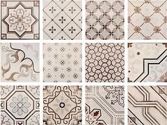 Fabresa набор декоров Antic Decor Mix Hueso 15x15
