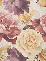 Golden Tile плитка настенная Gobelen Flower бежевая 25x33 (701151)