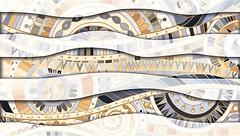 Golden Tile плитка настенная Венера Mix серая 25x40 (392161)