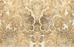 Golden Tile плитка настенная Сахара Орнамент бежевая 25x40 (931061)